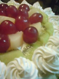手作りバースデーケーキ♪